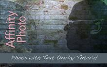 Photo with Text Overlay Tutorial